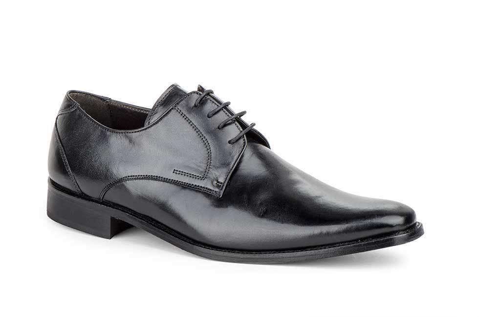 Herren Schuhe Echtleder Ledersohle Schwarz Größe Gr 39 40 41 42 43 44 45 Spanien