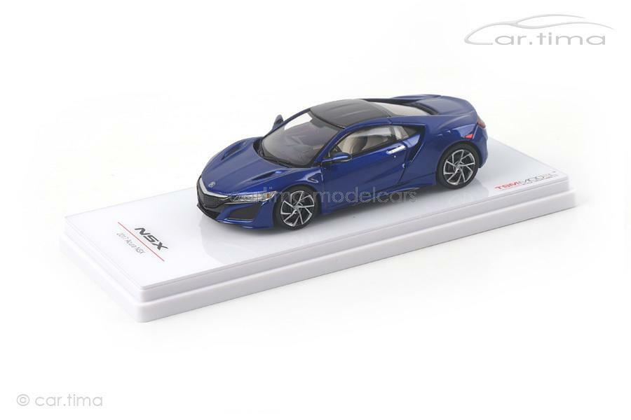 Acura NSX 2017 (LHD) - Nouvelle azul Pearl-TSM-Model - 1 43 - tsm164387