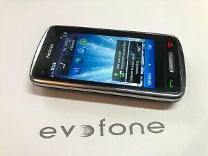 Nokia C6-01 Mobile Telefono-touchscreen - 02, TESCO, Giffgaff - 3G-tocco retrò