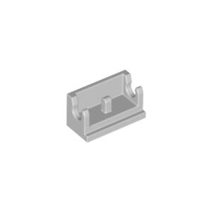 Brique Charnière GRIS GREY  Brick Hinge 1x2-4211469 LOT X4 Lego 3937
