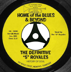 The-5-Royales-The-Definitive-039-5-039-Royales-Home-of-the-Blues-amp-Beyond-CD-2