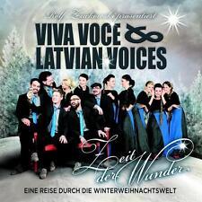 Zeit Der Wunder von Viva Voce & Latvian Voices (2014), Neu OVP, CD