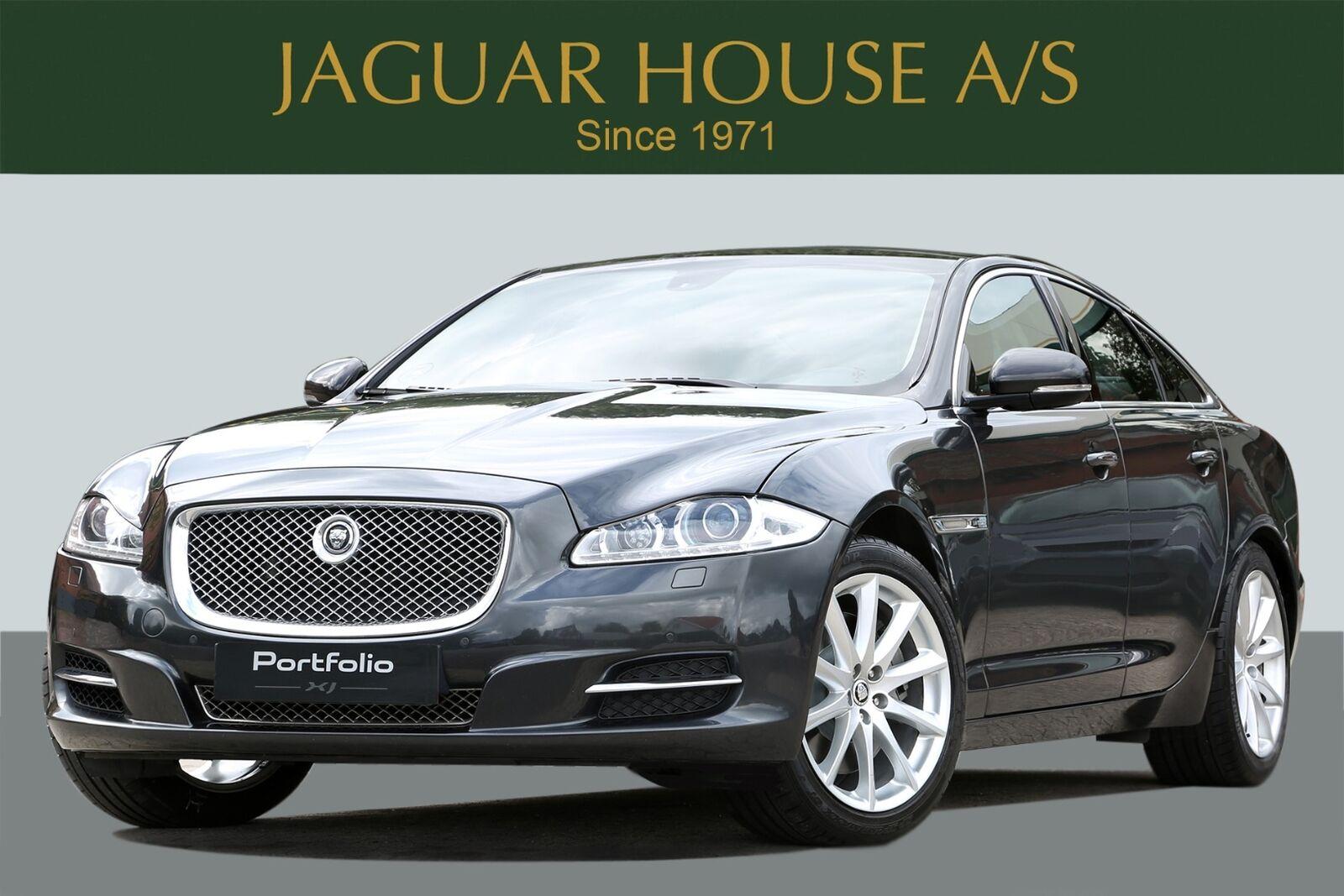 Jaguar XJ 5,0 V8 Portfolio aut. 4d