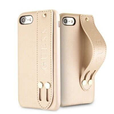 Genuine Guess Saffiano Strap Impact Case Cover for iPhone 8 & iPhone 7 | eBay