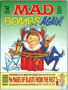 mad super special 65 winter 1988 vfnm bombs again spy