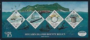 1999 PITCAIRN ISLAND BOUNTY RELICS MINISHEET FINE MINT MNH AUSTRALIA '99 LOGO