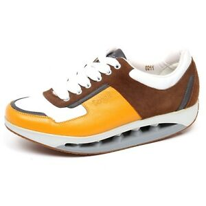 online retailer 6ee0c 6c4b7 Details about F3986 sneaker uomo yellow/brown SCHOLL STARLIT scarpe  suede/leather shoe man