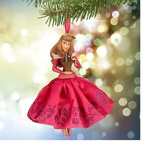 Disney Authentic Sleeping Beauty Princess Aurora Pink Satin