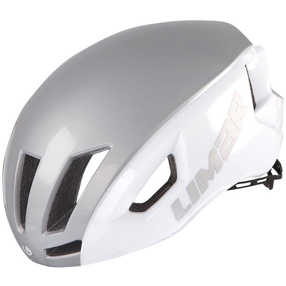 Limar Fahrradhelm Air Speed Gr.L 57-61cm weiss silver ca. 270g Fahrrad