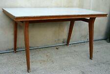 ECCEZIONALE tavolo da cucina anni 50 stile Carlo Mollino con piano in formica
