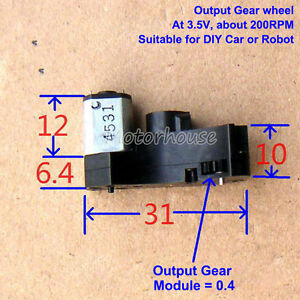 dc 3v 80rpm micro worm gear motor mini gearbox reduction. Black Bedroom Furniture Sets. Home Design Ideas