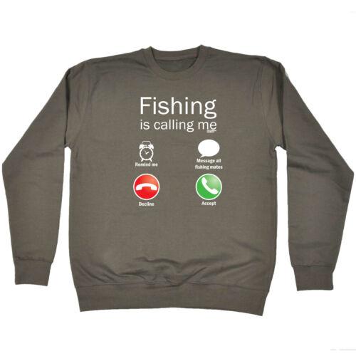 Pêche Enfants Sweat-shirt Drôle Pull-pêche m/'appelle