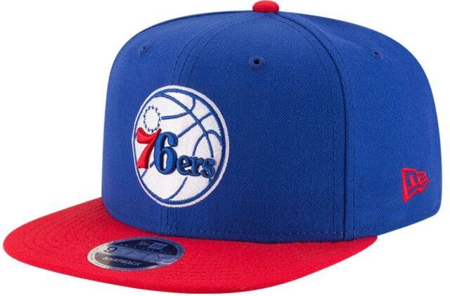 Philadelphia 76ers New Era 9FIFTY NBA Adjustable Snapback Hat Cap 2Tone Sixers