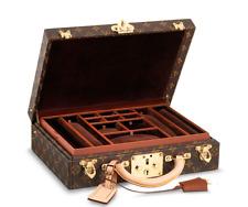 Louis Vuitton Authentic LV Monogram Jewellery Case Malle Trunk Suitcase