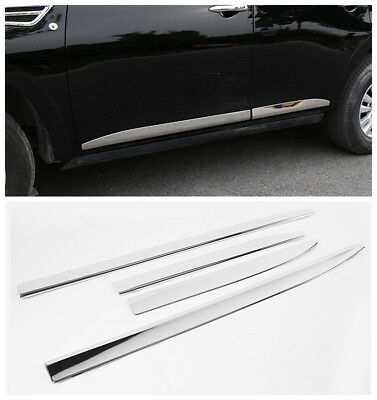 NCUIXZH 2Pcs ABS Chromed Side Door Rearview Mirror Cover Trims Car Accessories,for Nissan Patrol Armada Y62 Accessories 2017 2018 2019