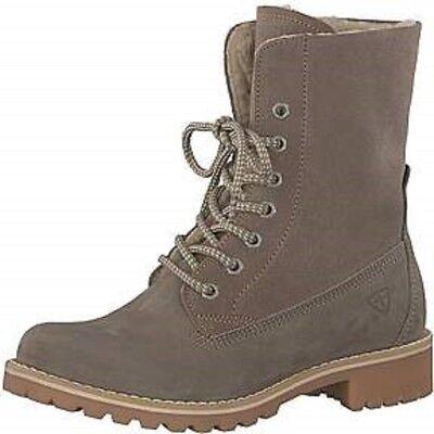 Tamaris Stiefelette Stiefel boots Wildleder dicke Sohle Primaloft warm NEU SALE   eBay