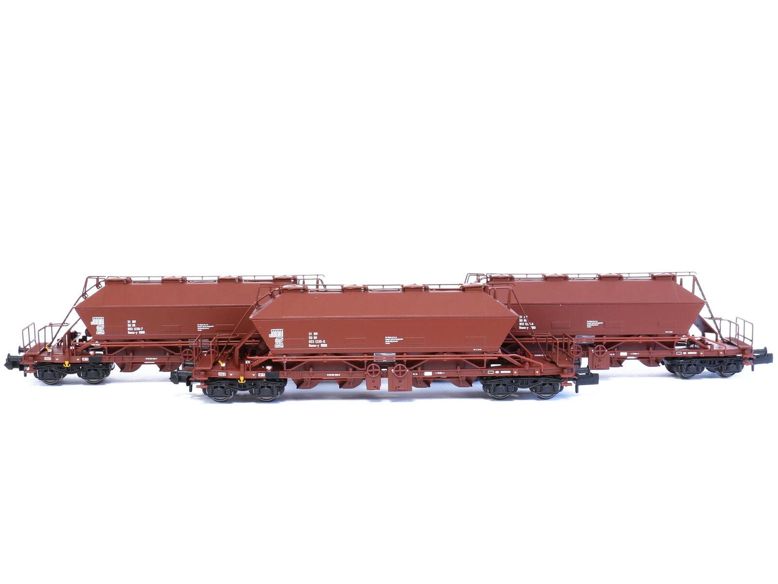 Kuehn 93014-carro merci Kali carrello uaoos 9331 DR DR DR 3x-Traccia N-NUOVO d01a9d