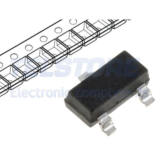 5pcs NTR4501NT1G Transistor N-MOSFET unipolare 20V 3,2A 1,25W SOT23 ON SEMICONDU