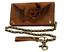 Geldboerse-Bikerboerse-Naturleder-Kettenboerse-Brieftasche-Wing-of-Hell-Portmonai Indexbild 1