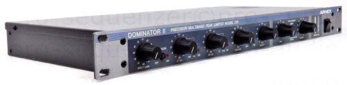 Garantie Aphex Dominator II Model 720 Precision Multiband Peak Limiter USA