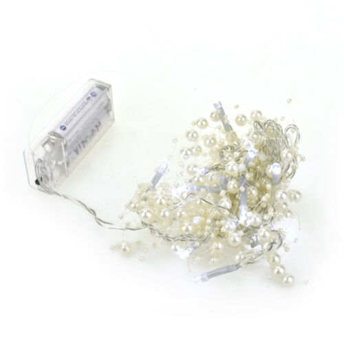 20 LED Battery Operated Beaded String Lights