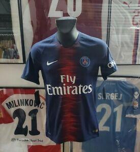 Details about Jersey Shirt Maglia Shirt Psg Paris 2018 2019 Neymar Prepared Worn New N