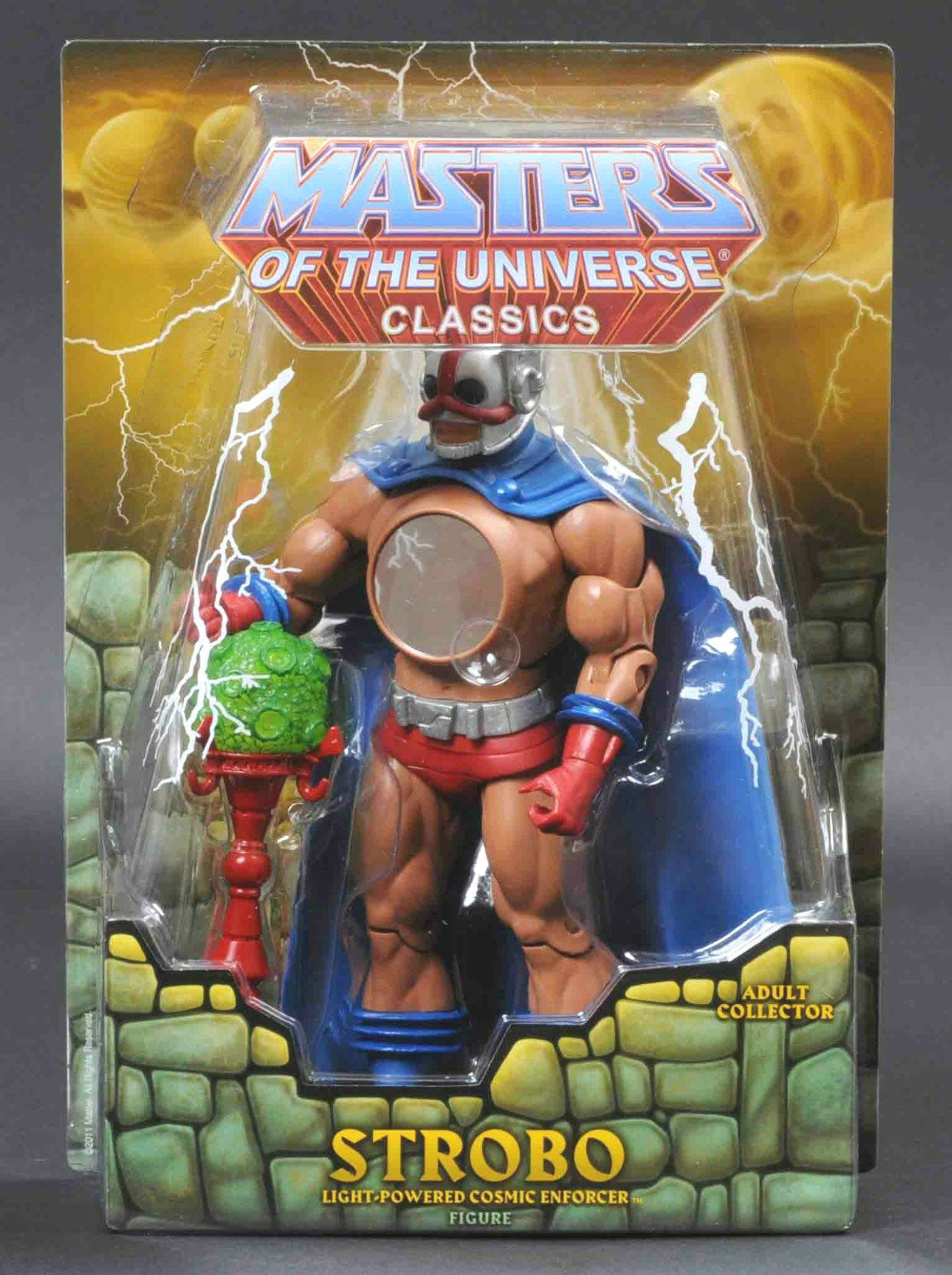 STROBO HE-MAN MASTERS OF THE UNIVERSE MOTU CONVENTION EXCLUSIVE FIGURE  SOLD