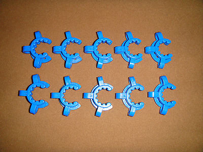 19#,Plastic Clamp,Lab Clamp Clip,10PCS/LOT, for 19/26 or 19/22 Joint,Lab Clamps