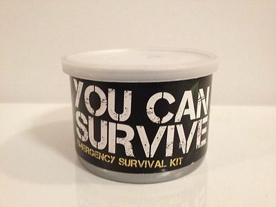 YOU CAN SURVIVE, COMPACT-OUTDOOR SURVIVAL STOVE & SUPPLEMENTS, NEW LAST ONE 8.99