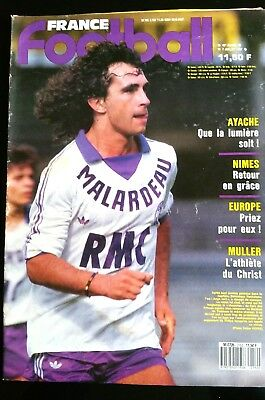 France Football 7/07/1987; Muller/ Nimes/ Ayache/ Copa America/ Argentine-chili 100% Hoogwaardige Materialen