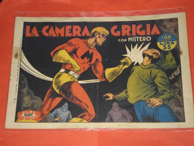 MISTERO ALBO GIGANTE RARA SERIE  N° 21  - ORIGINALE ALBI VICTORY 1947 -no RAGAR