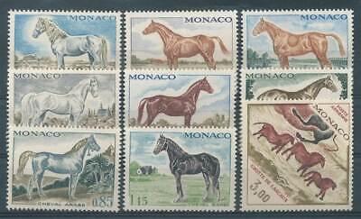 Tiere 100% Wahr 275092 Haustiere & Bauernhoftiere Monaco Nr.980-988** Pferde
