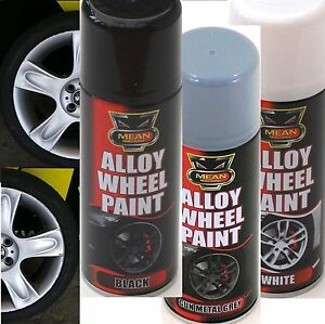alloy wheel rims spray paint satin spray can restorer car. Black Bedroom Furniture Sets. Home Design Ideas