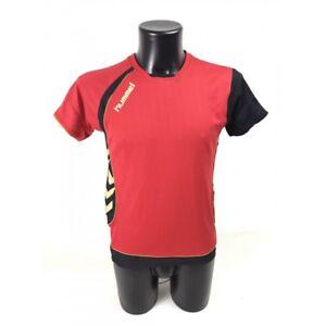 Hummel-T-shirt-rouge-S-Messieurs-Original
