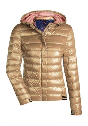 Milestone Damen Winterjacke Daunenjacke Steppjacke Übergangsjacke Jacke Kapuze