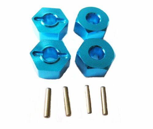 Aluminum Alloy metal Upgrade DIY parts Blue Fit For TRAXXAS 1//16 SLASH Rc Car
