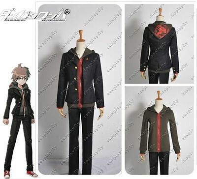 Danganronpa Dangan-Ronpa Makoto Naegi Uniform Suit Cosplay Costume Any Size
