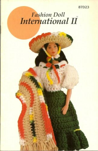 Annie/'s Attic Pattern Club FASHION DOLL CROCHET Pattern Booklets $7.88 CHOICE