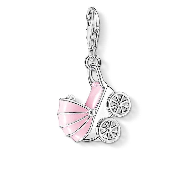 Genuine Thomas Sabo 30% OFF Charm Club Pink Pram Charm CC1113 RRP  119