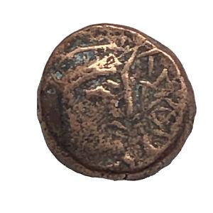 RARE-Ancient-Greek-Copper-Coin-Circa-450BC-100AD-Artifact-Old-Antiquity-B11