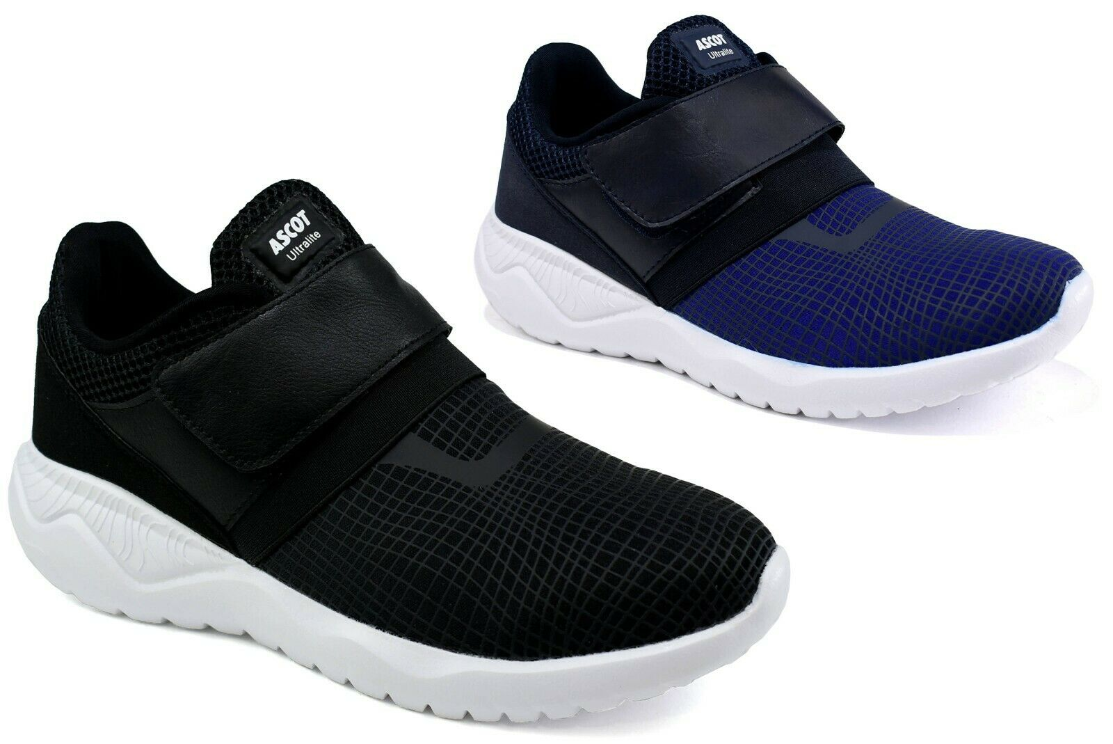 Mens New Easy Fasten Casual Walking Running Gym Fitness Memory Foam Trainer Shoe