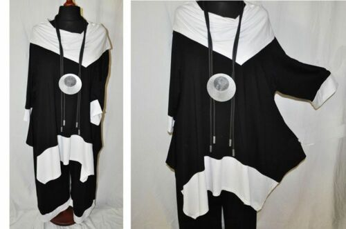 48 Noir 50 tunika blanc Oversize 52 Col Jersey 54 46 Superposition Carmen shirt qS4cHwAW