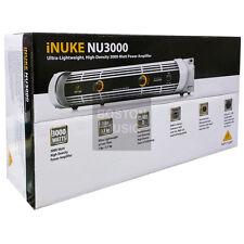 Behringer NU3000 High-Density Power Amplifier NU-3000 120V US 336530307242