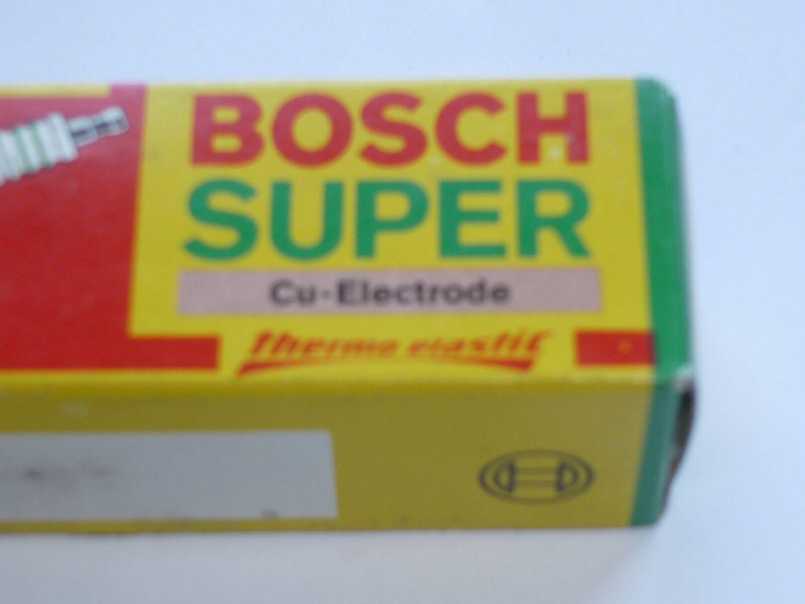4x Bosch Zündkerze W7CC0 Super Spark Plug Bougie Candela Bujía Tennpluggen