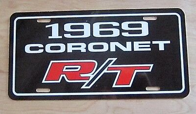 1970 Dodge CHARGER license plate tag 70 RT SE 383 440 426 Hemi Muscle Car 500