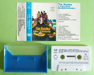 MC Musicassetta THE BEATLES Yellow Submarine Italy Rock Beat 1970 Rara no lp cd