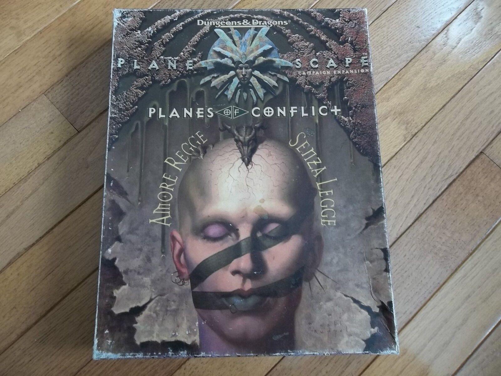 TSR AD&D AD&D AD&D Planescape Planes of Conflict Box Set c12615