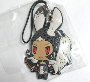 Final Fantasy Trading Rubber Strap Keychain Vol.3 Cain Highwind Square Enix F//S