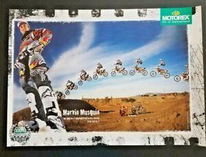 Vintage Poster 2014 Marvin Musquin KTM 250 SX-F Motocross Supercross Red Bull