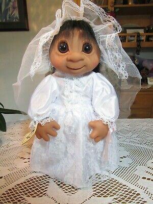 "17/"" Dam Troll Doll GIANT BRIDE w//HANG TAG LAST ONES NEW IN ORIGINAL BAG"